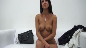 Solo petite czech babe toys at the castings