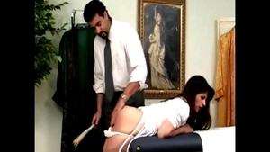 Spanking in the clinic