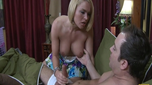 Raw fucking in the company of young blonde hair Krissy Lynn