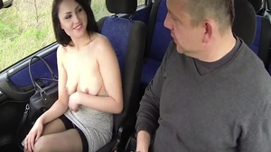 Big ass czech whore feels like rough real sex in the street