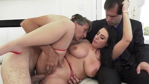 Cucked - Large boobs Angela White wimp