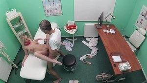 FakeHospital: Hard pounding with Nathaly Cherie & Lutro Steel