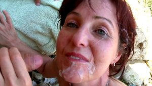 Jenny Lover pussy eating in public HD