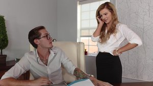 Naughty Office - Stepmom Bella Rose