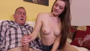 Finish Him: Couple Amber Mae loves fucking in HD