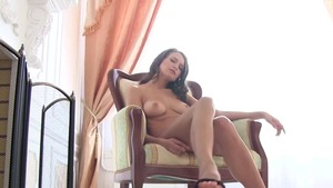 Solo busty mature gets plowed