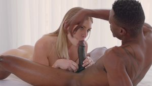 Blacked: Chubby Giselle Palmer cumshot sex video