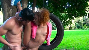 Round and Brown - Kendall Woods hard gets a good fucking