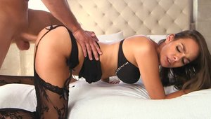 Milf Hunter - Bobbi Rydell and Sean Lawless in the bed