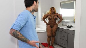 Brazzers Exxtra - Victoria Cakes is very fat BBW