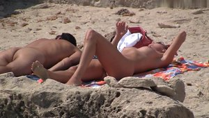 Rammed hard at the beach among amateur