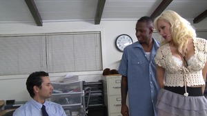 Margo Russo cuckold sex in office