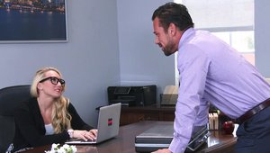 Naughty Office - Aj Applegate and Johnny Castle ramming hard