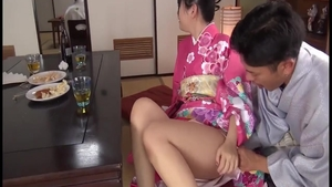 Innocent asian babe rough squirt