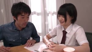 Amazing japanese brunette wishes rough sex HD