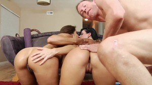 India Summer & Phoenix Marie plowed by Mark Wood