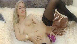 Hard pounding escorted by passionate model