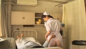 Pretty & very kinky nurse rough fucked hard