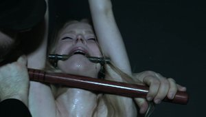 Infernal Restraints - Bondage accompanied by blonde haired