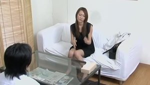 Ramming hard together with asian amateur
