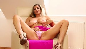 Cougar Mercedes Silver receives hard sex in HD
