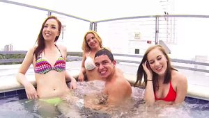 Mofos: POV orgy escorted by wet babe Carli Maverick
