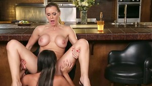 Tanya Tate beside very hawt Marina Angel