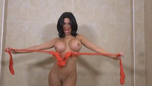 Busty brunette Ree Petra likes rough nailing in HD