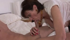 Swallow accompanied by young beautiful british MILF