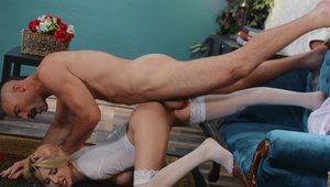 Brazzers Network: Bald Alix Lynx agrees to rough nailing