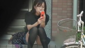 Japanese amateur need gets nailing in socks