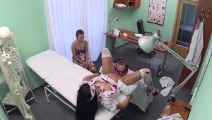 Fake Hospital: Hottest amateur threesome in HD