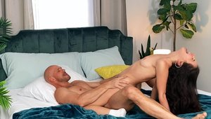 Brazzers Network: Hottest Jane Wilde cum in mouth in shorts