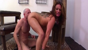 BDSM scene escorted by booty craving Tory Lane
