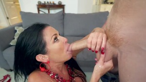 Big boobs Veronica Avluv threesome in the bed