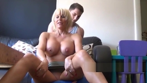 Nailed rough together with young austrian roommate